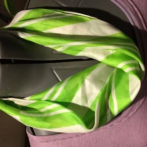 Accessories - Vintage silk infinity scarf